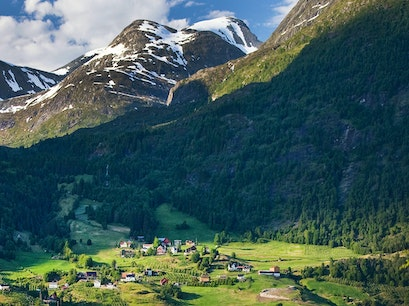 Flo Mountain Stranda  Norway