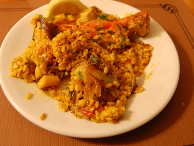 "Have the ""famous paella"" at Pou des Lleo"