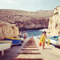 The Blue Grotto Qrendi  Malta