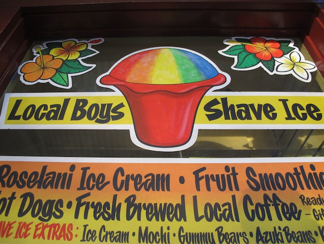 Cool Off With A Shave Ice In Lahaina