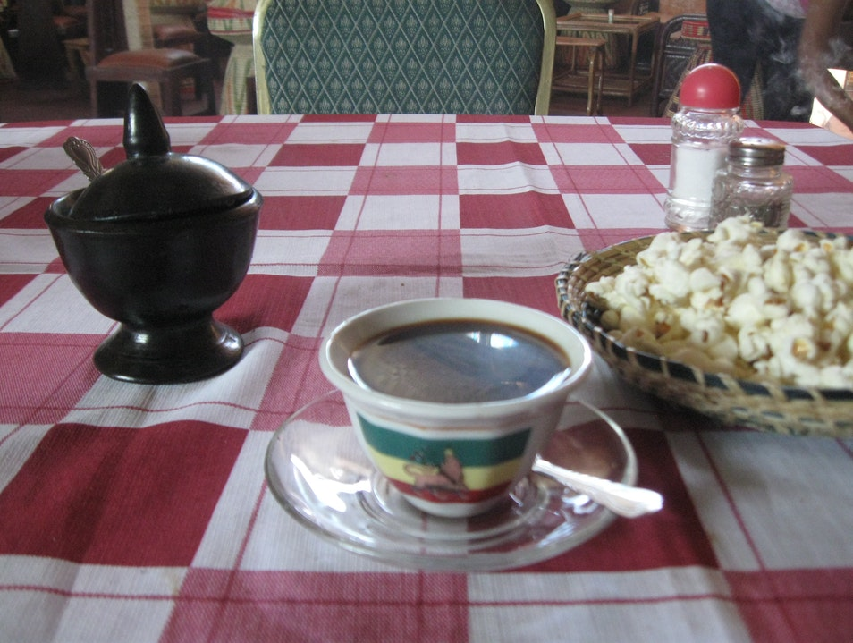 Coffee Time, Ethiopian Style