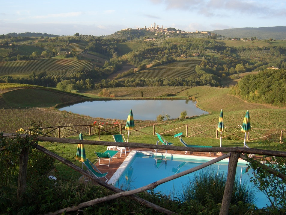 Wonderful place to stay to tour Tuscany! San Gimignano  Italy
