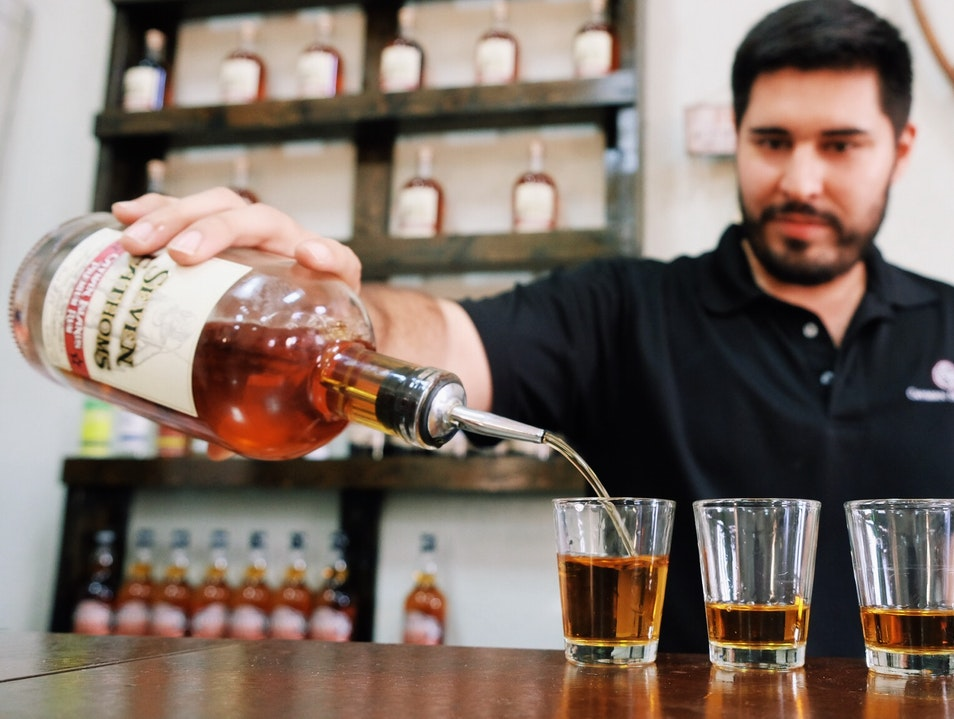 Taste and Learn About Local Liquors at Cayman Spirits Co. George Town  Cayman Islands