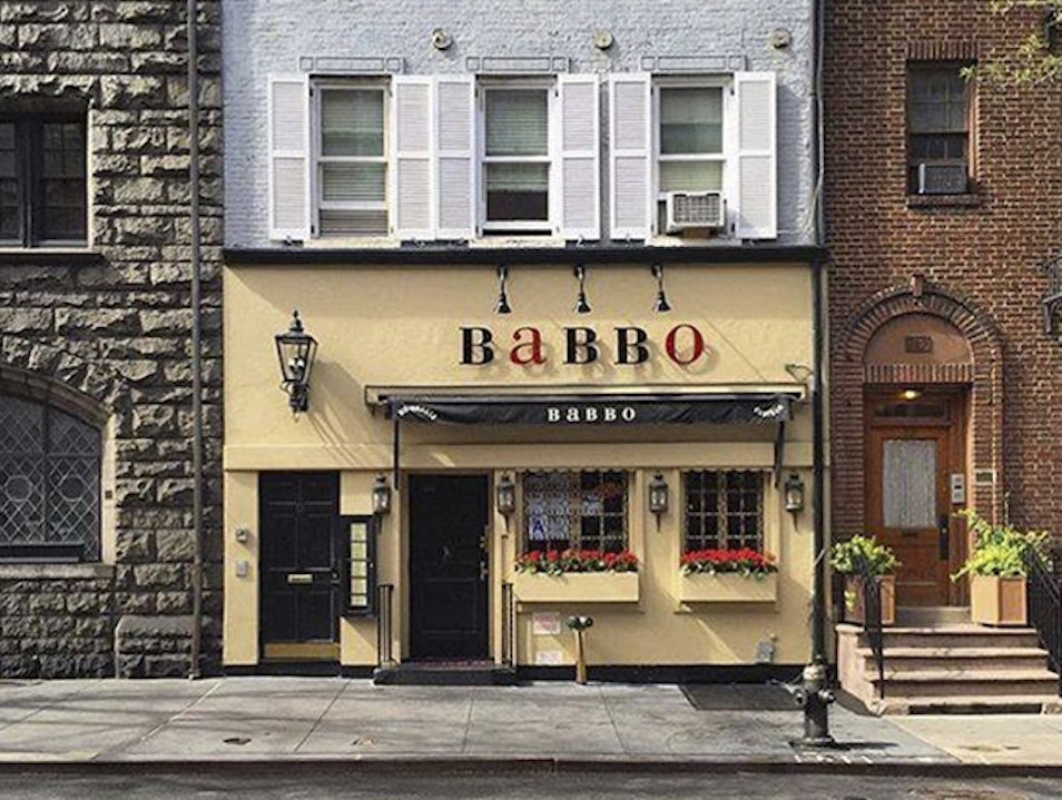 Babbo New York New York United States