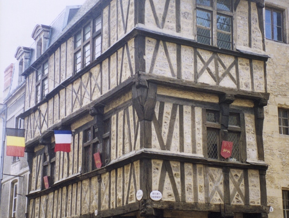 Normandy's Half-timbered Houses Bayeux  France