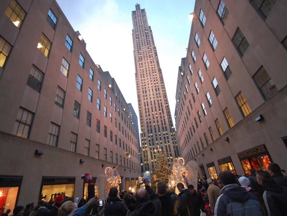 30 Rock During the Holidays New York New York United States