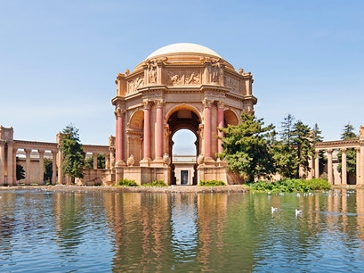 Palace of Fine Arts San Francisco California United States