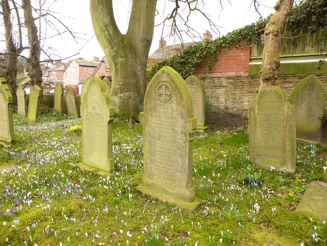 Exploring the Graves of Prestbury
