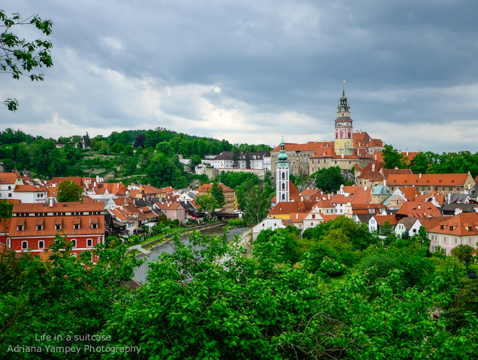Picture perfect  Cesky Krumlov  Czech Republic