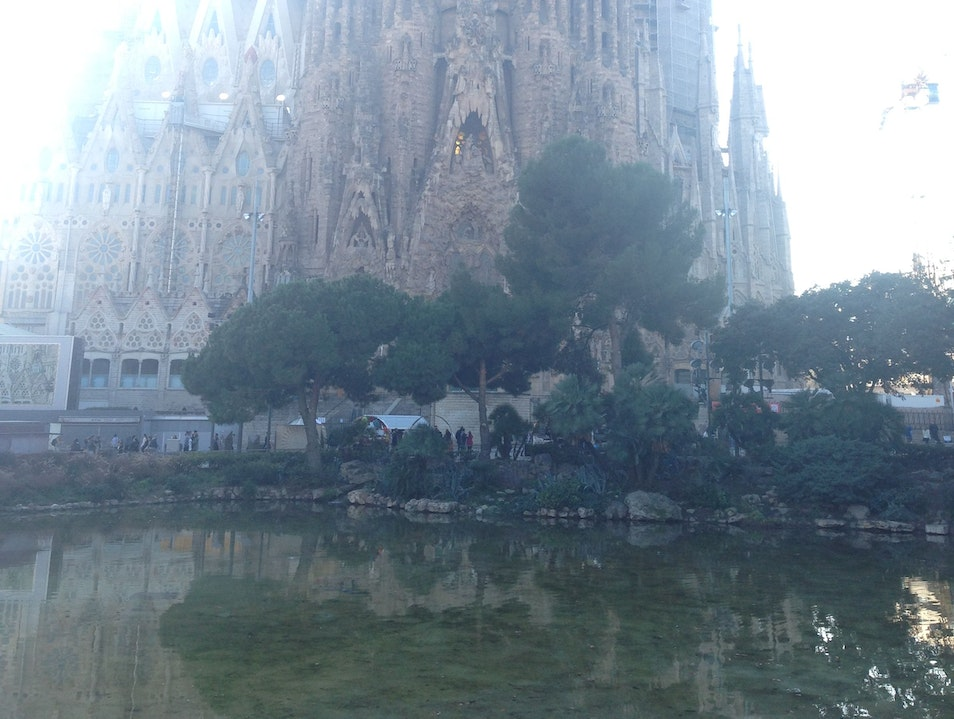 La Sagrada Familia Barcelona  Spain