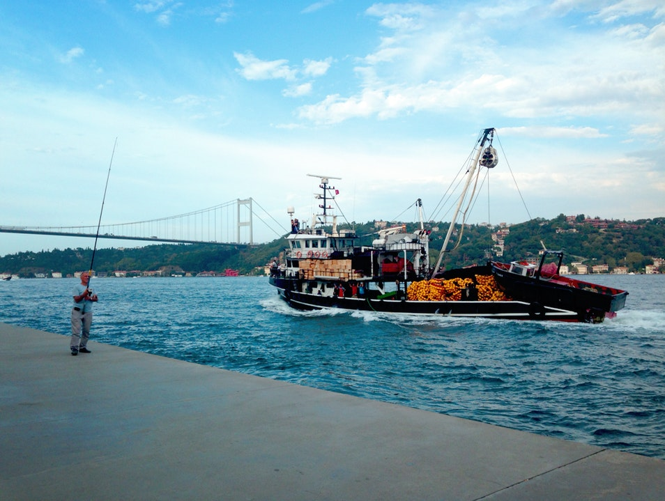 Strolling Along the Bosphorus  Istanbul  Turkey