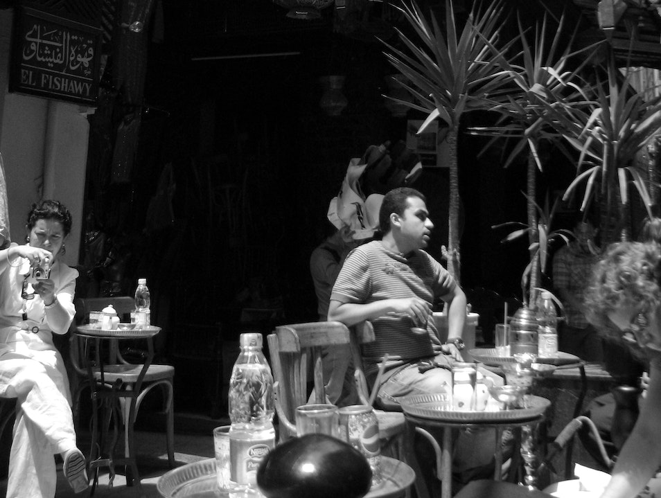 Hookah and Tea Mid-Market Cairo  Egypt