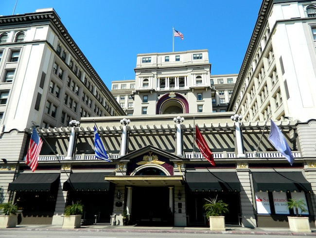 Stately historic hotel in San Diego