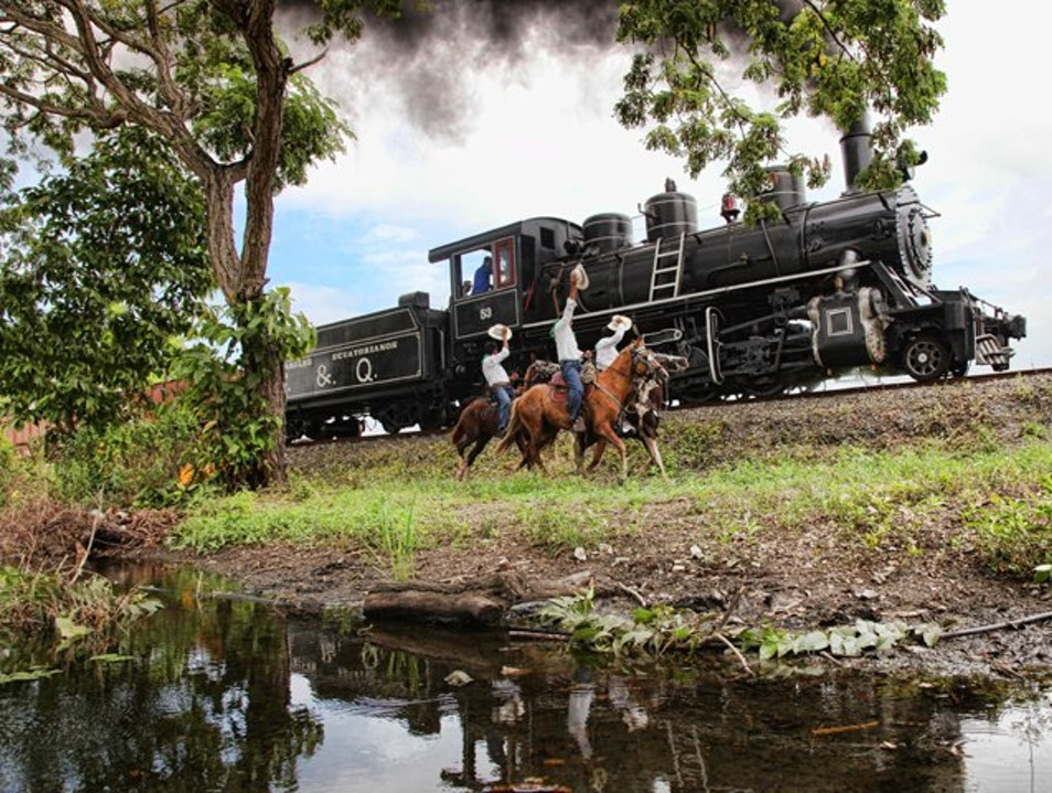 Guayaquil to Quito by Train