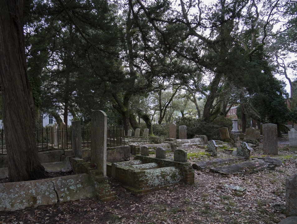 Otherwordly Burying Grounds Beaufort North Carolina United States