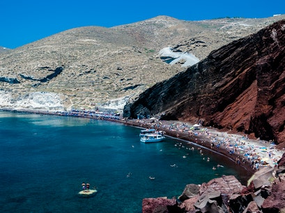 Red Beach, Santorini Santorini  Greece