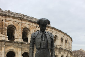 Nimes the Town in The South of France
