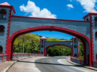 Agana Spanish Bridge  Hagåtña  Guam