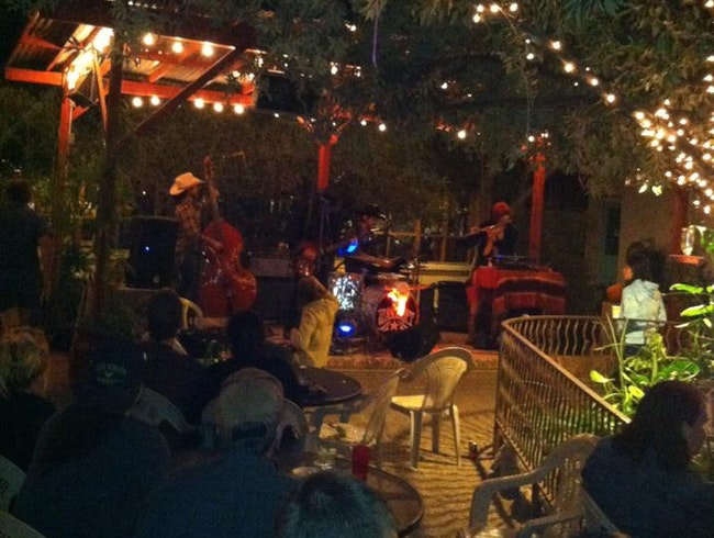 Music & Mixed Drinks on the Patio at La Cocina