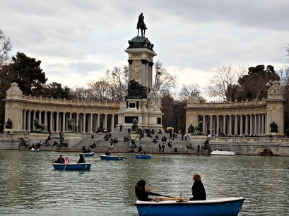 Retiro Madrid  Spain