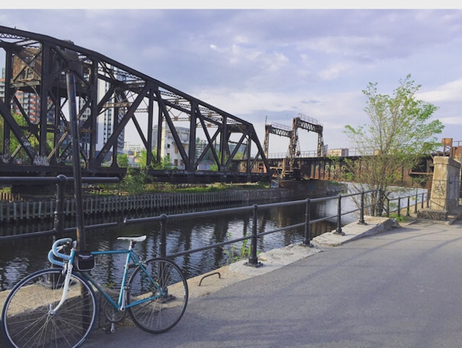 Coolest bike path along Montreal's canals