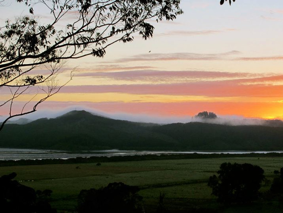 Cabin Accommodation in Hokianga Harbour Rawene  New Zealand