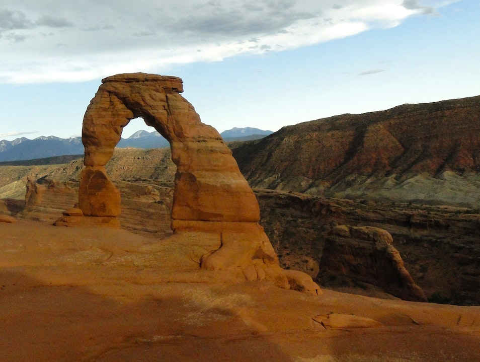 Nature's Frame at Delicate Arch Moab Utah United States