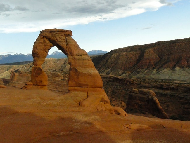 Nature's Frame at Delicate Arch