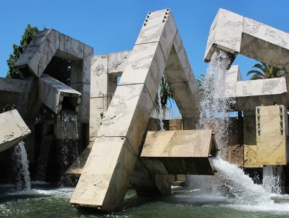 An Interactive Fountain at the Embarcadero San Francisco California United States