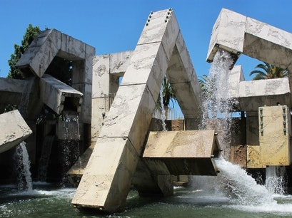 Vaillancourt Fountain San Francisco California United States
