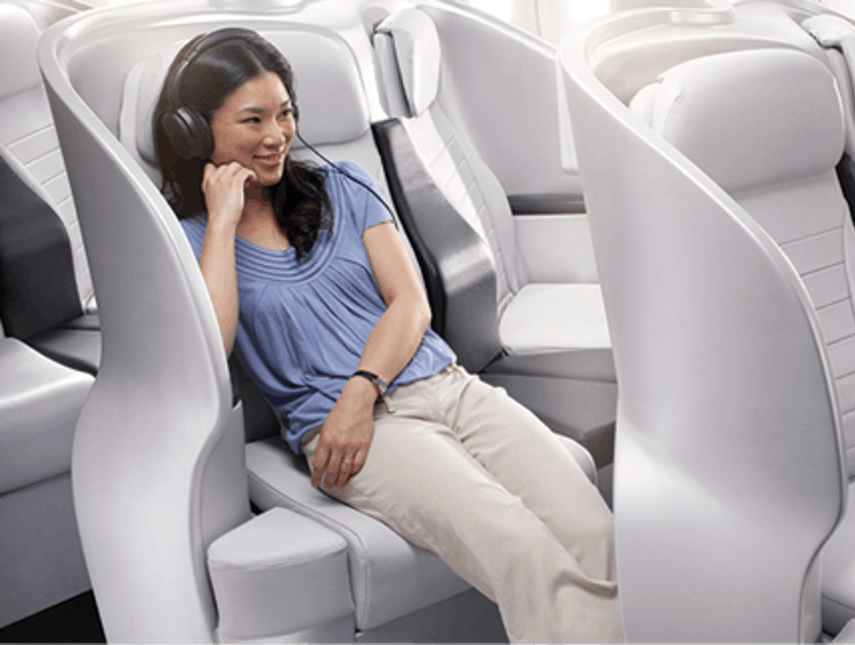 Air New Zealand Economy Skycouch Sydney  Australia
