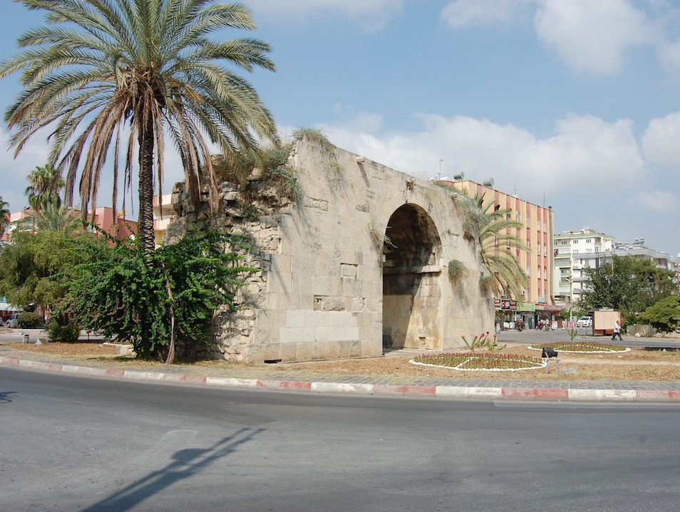 Walk through the ancient gate through which Cleopatra and Mark Antony were introduced Tarsus  Turkey