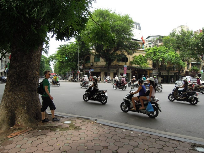 Learning to Cross the Street in Hanoi, Vietnam