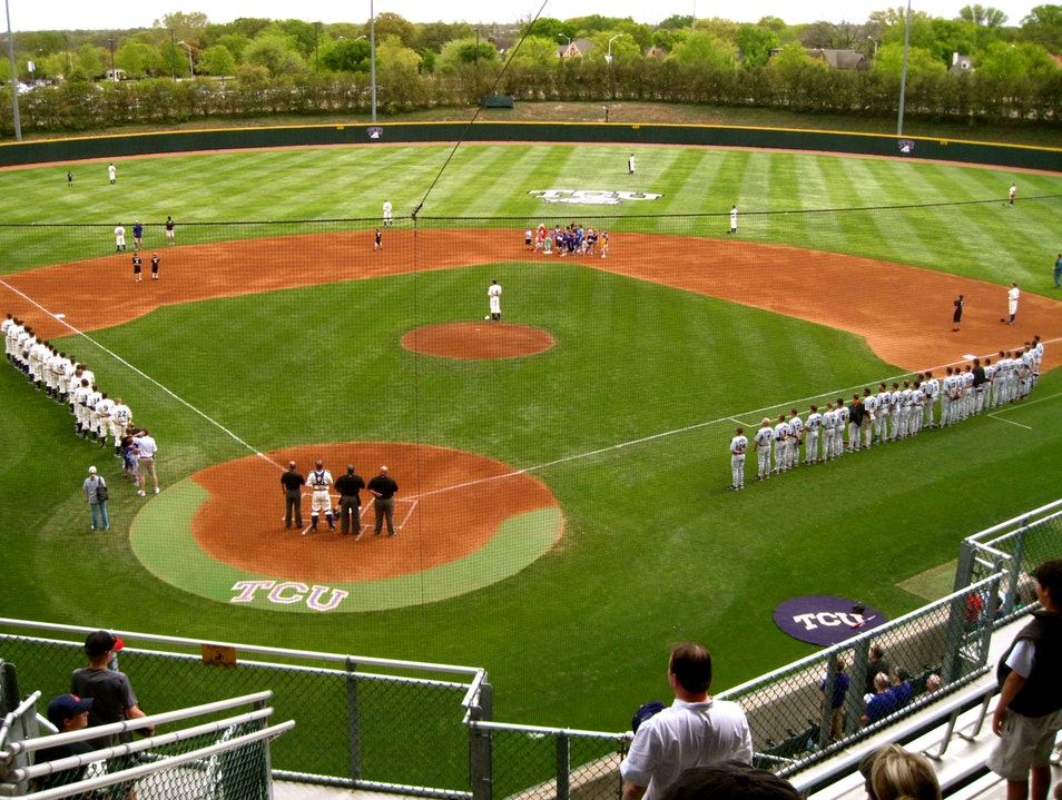 Fear the Frog: TCU Baseball in Ft. Worth Fort Worth Texas United States