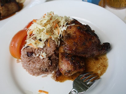 Seymour's Jerk Centre George Town  Cayman Islands