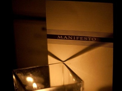 Manifesto + The Rieger Hotel Grill & Exchange Kansas City Missouri United States