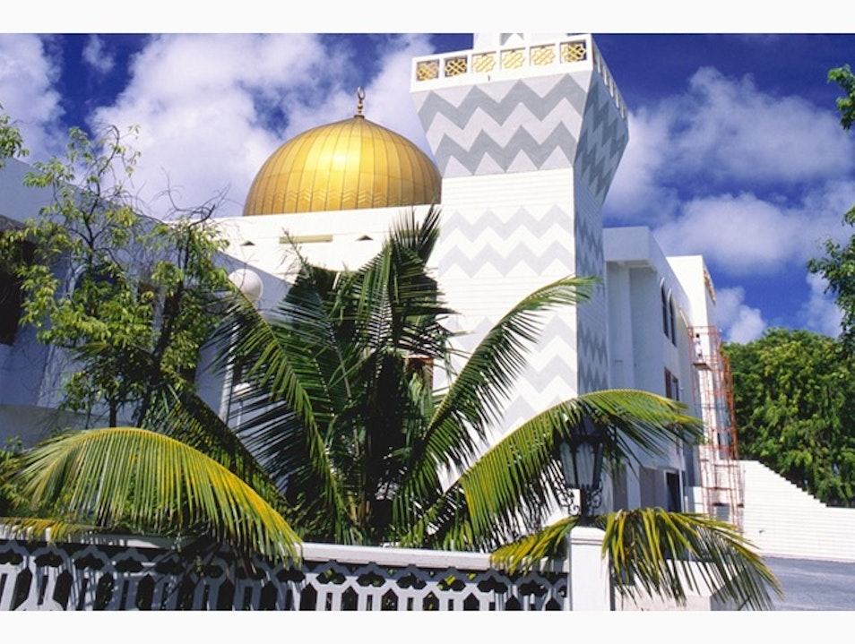Islamic Centre's Grand Friday Mosque Malé  Maldives