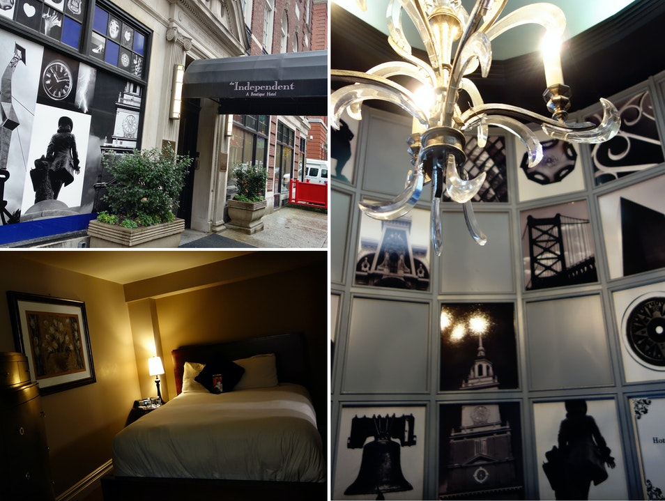 A charming and friendly boutique hotel