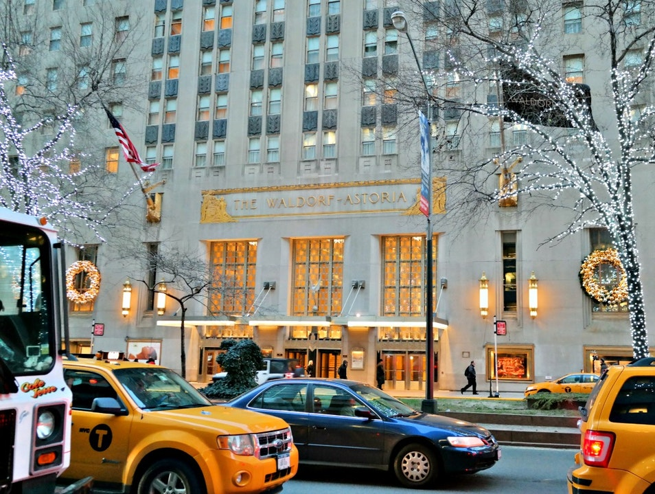 24 Hours: Staying at the Waldorf Astoria  New York New York United States