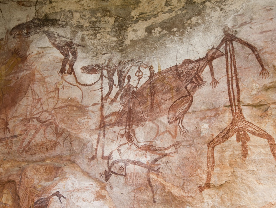 Explore the Aboriginal Rock Art of Kakadu Kakadu  Australia