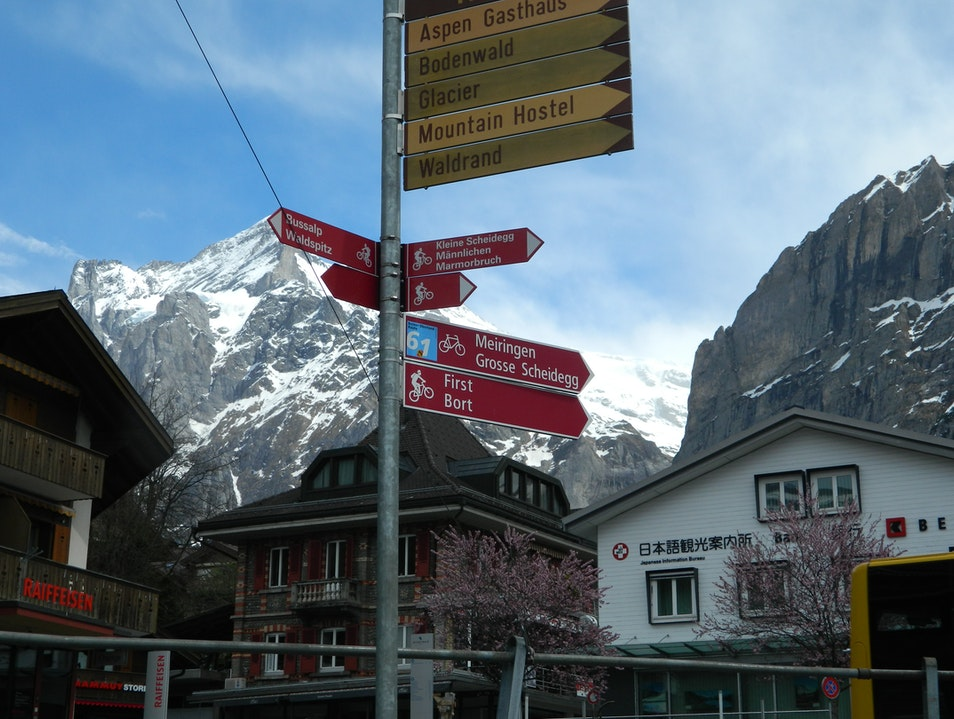 The Signs of Grindelwald Grindelwald  Switzerland