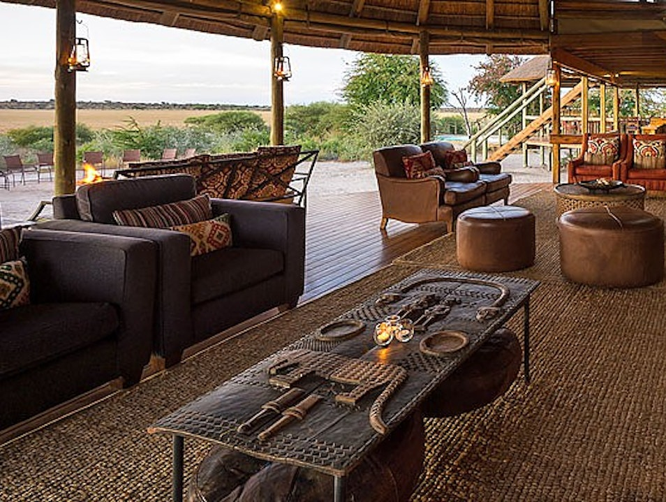 Sleep Under the Stars in the Kalahari Desert