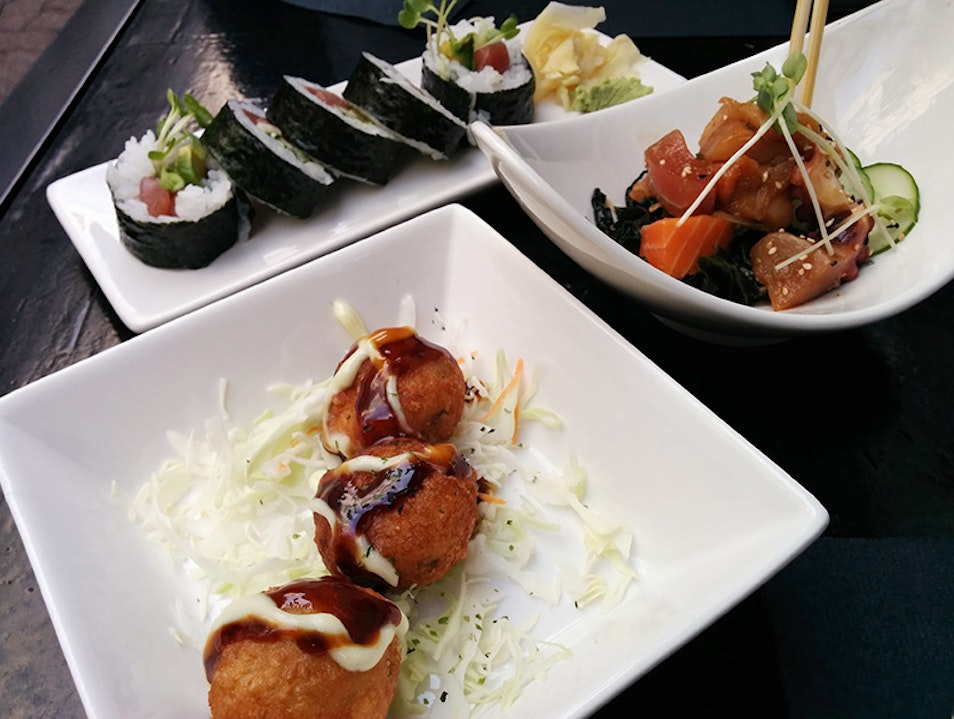 Sushi and Snacks at Nijo Seattle Washington United States