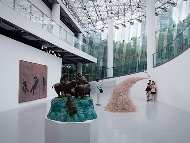 The Shanghai Museum of Contemporary Art