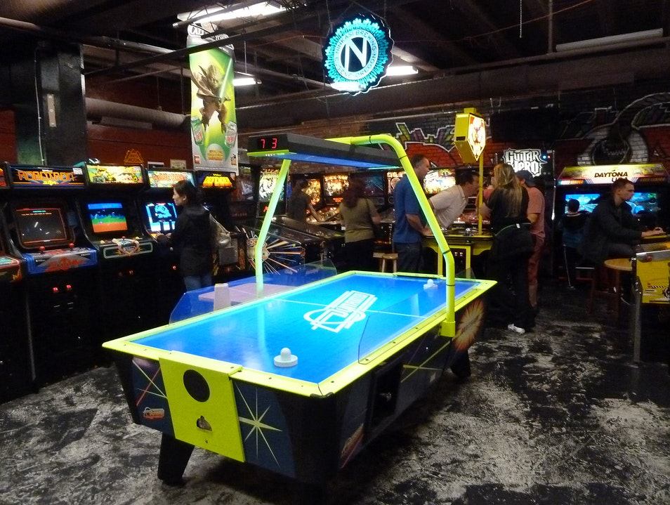 Play On at Dorky's Barcade Tacoma Washington United States