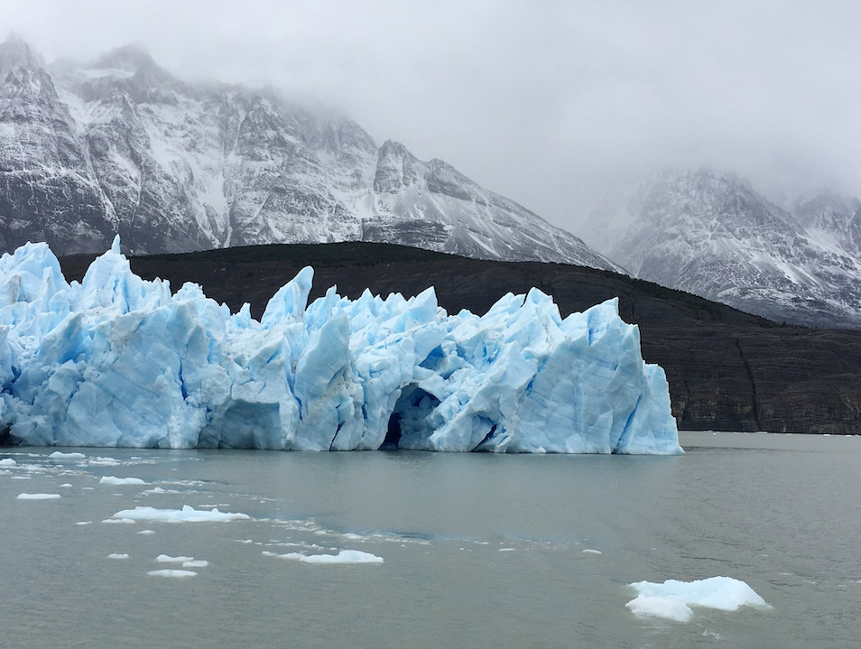 Glaciar Grey Hike Torres del Paine  Chile