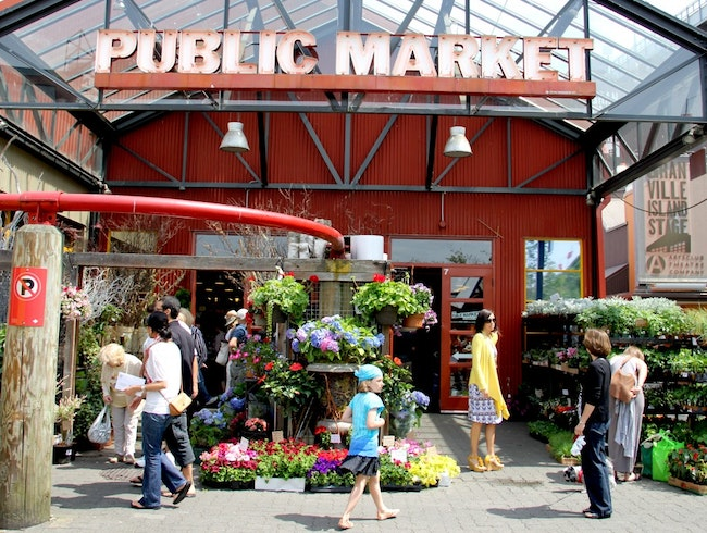 Granville Island: A Hot Spot for Lunch