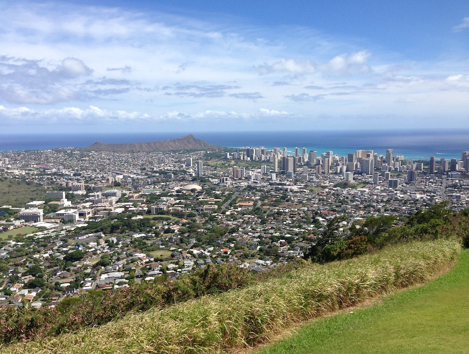 Tantalizing Views from Mt. Tantalus  Honolulu Hawaii United States