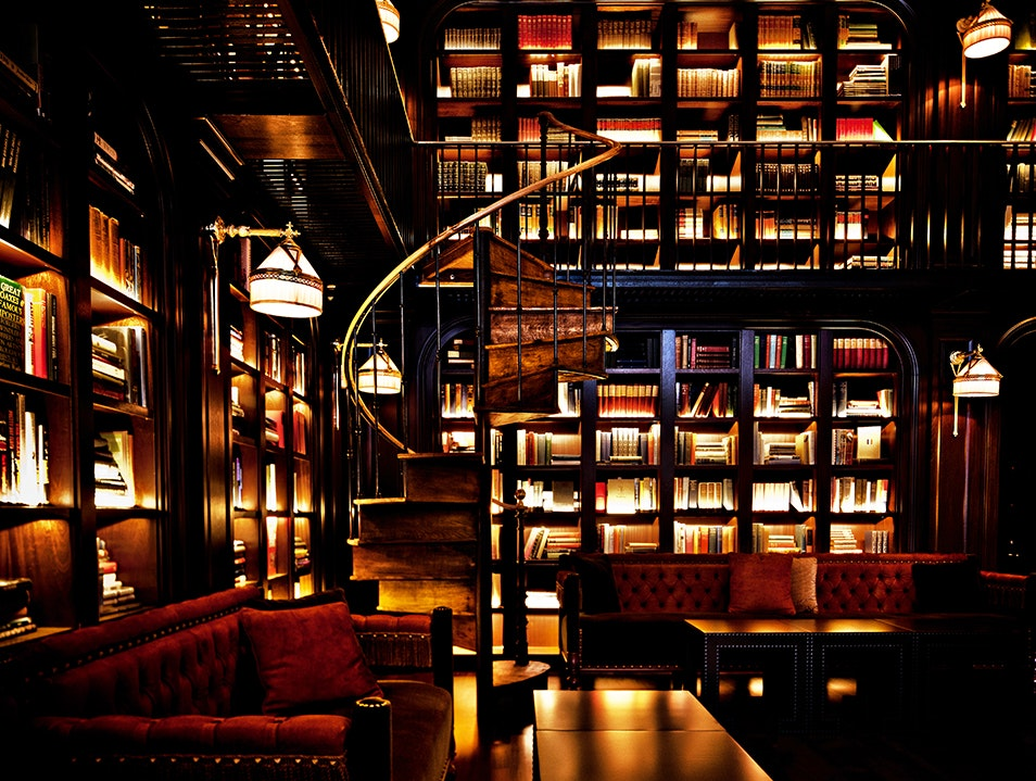 A Literary Bar New York New York United States