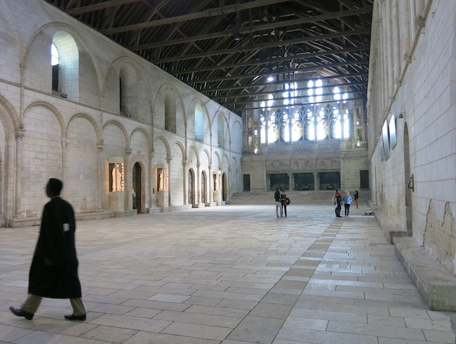 Queen Eleanor of Aquitaine's Hall of the Lost Footsteps